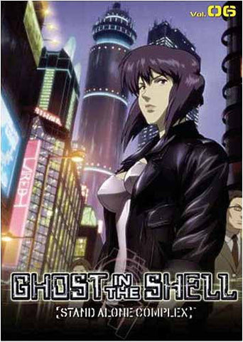 Ghost in the Shell - Stand Alone Complex - Volume 06 DVD Movie