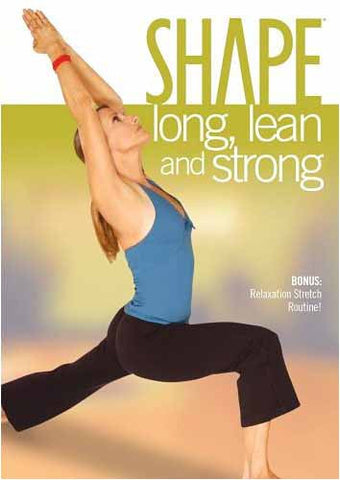 Shape - Long, Lean and Strong DVD Movie