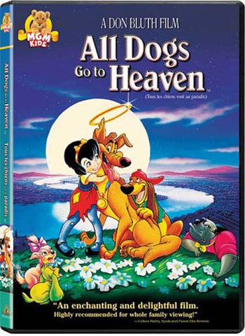 All Dogs go To Heaven (MGM) DVD Movie