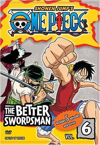 One Piece - Vol. 6 - The Better Swordsman DVD Movie
