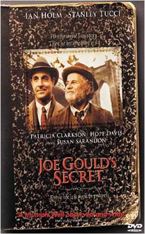 Joe Gould's Secret DVD Movie