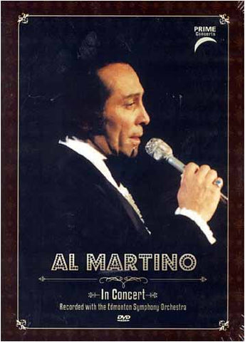 Al Martino - In Concert (with the Edmonton Symphony Orchestra) DVD Movie