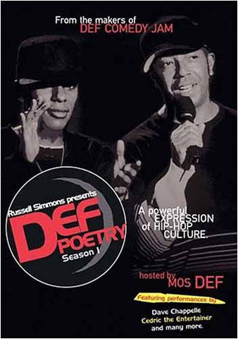 Def Poetry - Season 1 DVD Movie