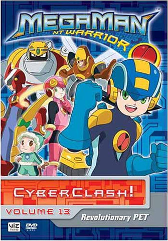 MegaMan NT Warrior - Revolutionary PET, Vol. 13 DVD Movie