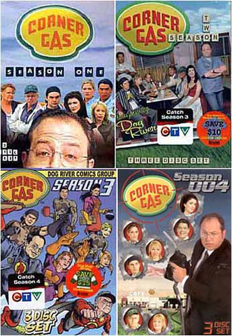 Corner Gas - Season 1, 2, 3 and 4 (4 Pack) DVD Movie