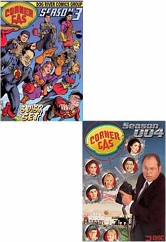 Corner Gas - Season 3 and 4 (2 Pack) DVD Movie