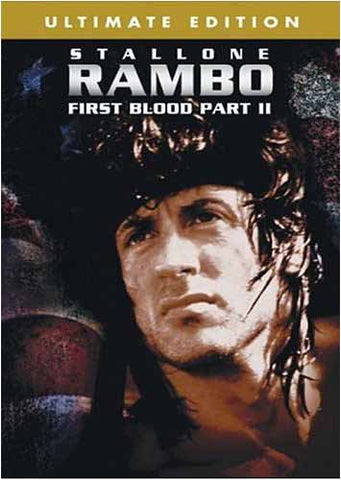 Rambo - First Blood Part II (Ultimate Edition) (Bilingual) DVD Movie