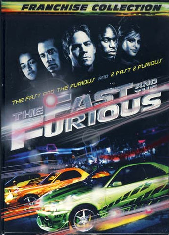 The Fast and the Furious Franchise Collection(The Fast and the Furious and 2 Fast 2 Furious)(Boxset) DVD Movie