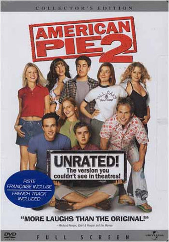 American Pie 2, Unrated! - Collector's Edition (Full Screen) DVD Movie