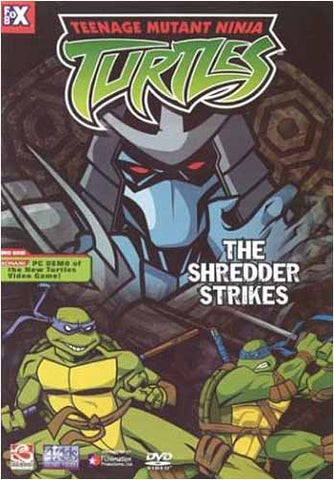 Teenage Mutant Ninja Turtles - The Shredder Strikes - Vol.4 DVD Movie