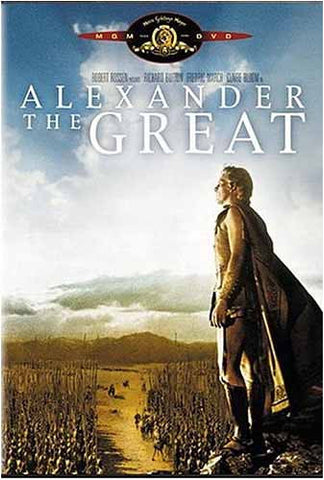 Alexander The Great (Richard Burton) (MGM) (Bilingual) DVD Movie