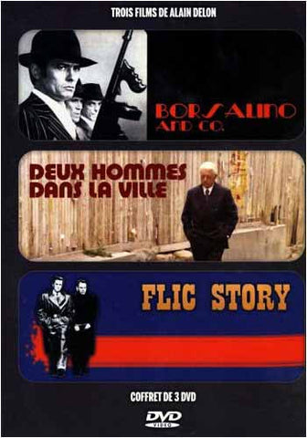 Coffret De Alain Delon - Borsalino And Co./ Deux Hommes Dans La Ville/Flic Story (Boxset) DVD Movie
