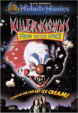 Killer Klowns from Outer Space (MGM) DVD Movie