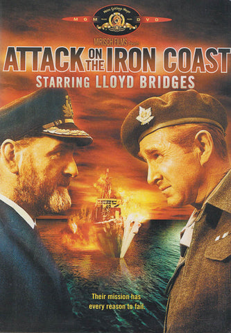 Attack on The Iron Coast (MGM) DVD Movie