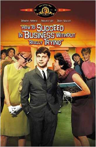 How to Succeed in Business Without Really Trying DVD Movie