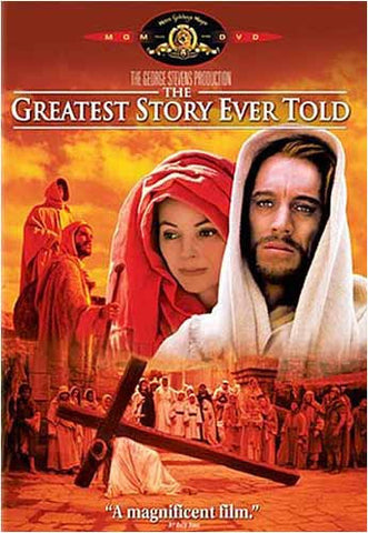 The Greatest Story Ever Told (Bilingual) DVD Movie
