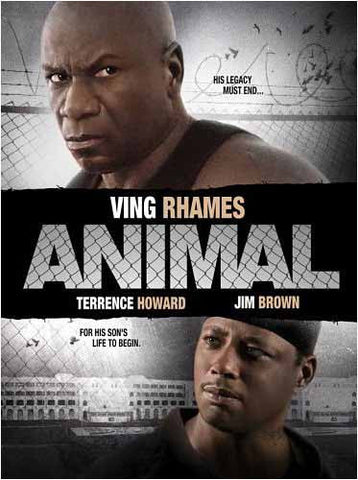 Animal (Ving Rhames) DVD Movie