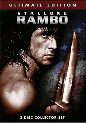 Rambo - Ultimate Edition (3 Disc Collector Set) (Boxset) DVD Movie