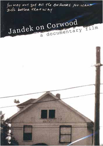 Jandek on Corwood DVD Movie