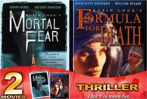Mortal Fear And Formula For Death (2Pack) DVD Movie