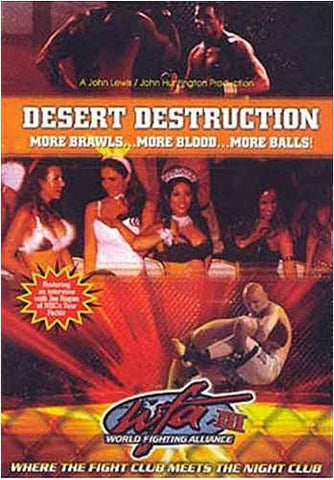 WFA III - World Fighting Alliance III - Desert Destruction DVD Movie