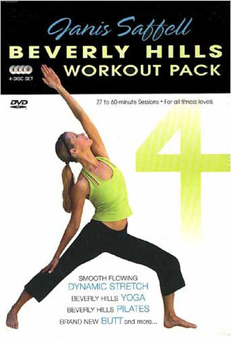 Janis Saffell Beverly Hills Workout (Boxset) DVD Movie