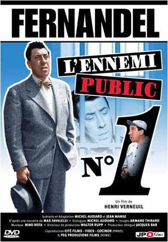Fernandel - L'ennemi public No 1 DVD Movie