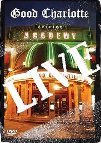 Good Charlotte Live at Brixton Academy DVD Movie