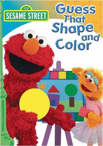 Guess That Shape and Color - (Sesame Street) DVD Movie
