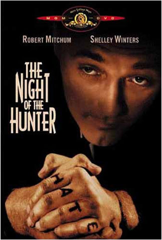 The Night of the Hunter (La Nuit Du Chasseur) (MGM) (Bilingual) DVD Movie