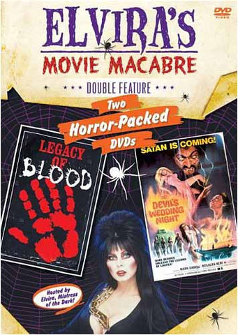 Elvira s Movie Macabre: Legacy of Blood And Devil s Wedding Night (Double Feature) DVD Movie