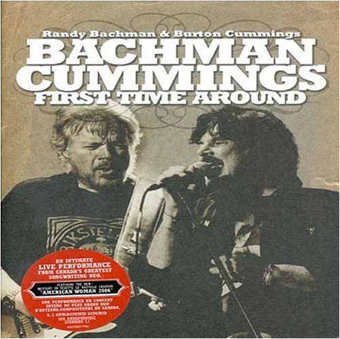 BachMan Cummings: firsttime around DVD Movie