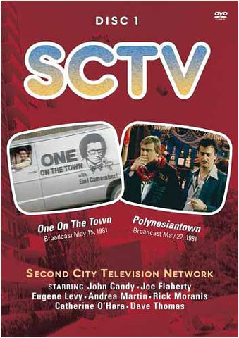 SCTV - Disc 1 - One on the Town & Polynesiantown DVD Movie