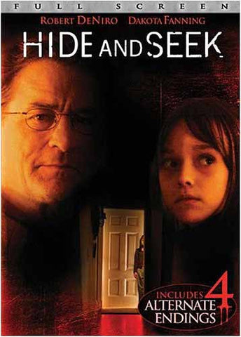 Hide and Seek (Full Screen Edition) DVD Movie