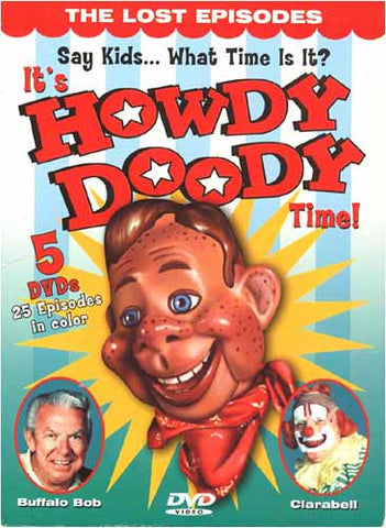 It's Howdy Doody Time! (Boxset) DVD Movie