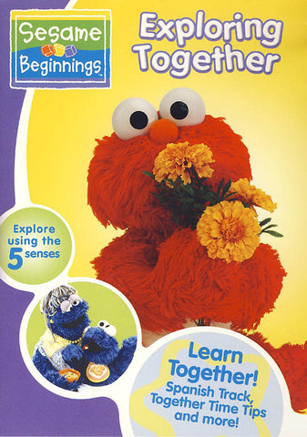 Exploring Together - (Sesame Beginnings) DVD Movie