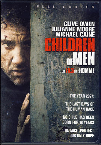 Children of Men (Full Screen) (Bilingual) DVD Movie