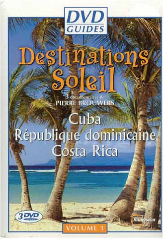 DVD Guides - Destinations Soleil - Volume 1 (Cuba/Republique Dominicaine/Costa Rica) (Boxset) DVD Movie