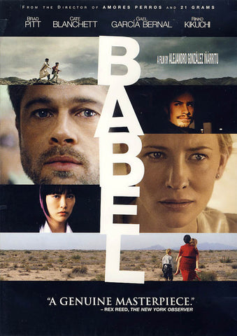 Babel DVD Movie