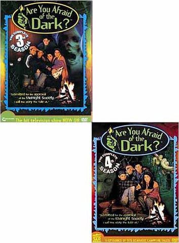 Are You Afraid of The Dark - Season 3 / 4 (2 Pack) DVD Movie