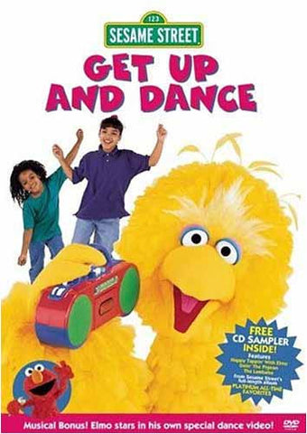 Get Up And Dance - (Sesame Street) DVD Movie