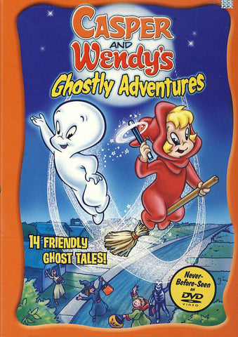 Casper and Wendy's Ghostly Adventures DVD Movie