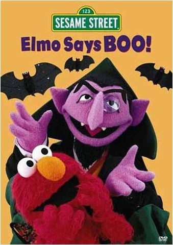 Elmo Says Boo! - (Sesame Street) DVD Movie