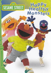 Happy Healthy Monsters - (Sesame Street) (Green Cover)