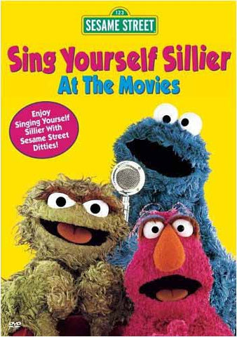 Sing Yourself Sillier At The Movies - (Sesame Street) DVD Movie