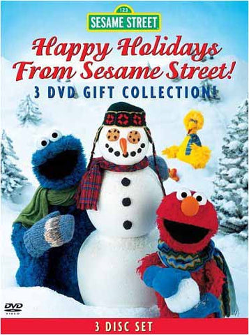 Sesame Street - Happy Holidays From Sesame Street! 3 Disc DVD Collection (Boxset) DVD Movie