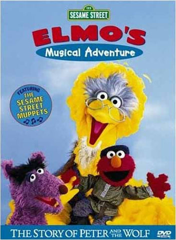 Elmo's Musical Adventures - (Sesame Street) DVD Movie