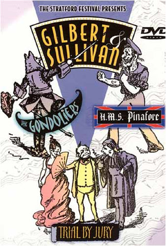 Gilbert And Sullivan - The Gondoliers/H.M.S. Pinafore/Trial By Jury (Boxset) DVD Movie