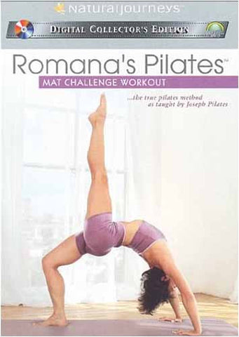 Romana's Pilates - Mat Challenge Workout DVD Movie