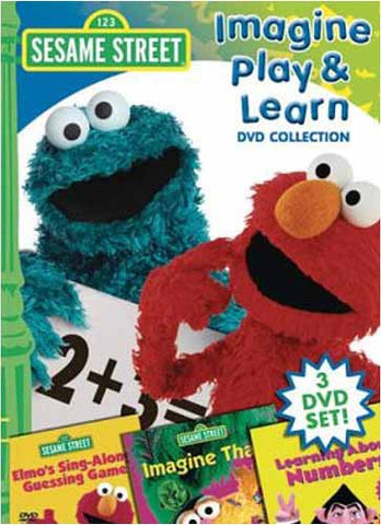 Sesame Street - Imagine Play and Learn DVD Collection (Boxset) DVD Movie